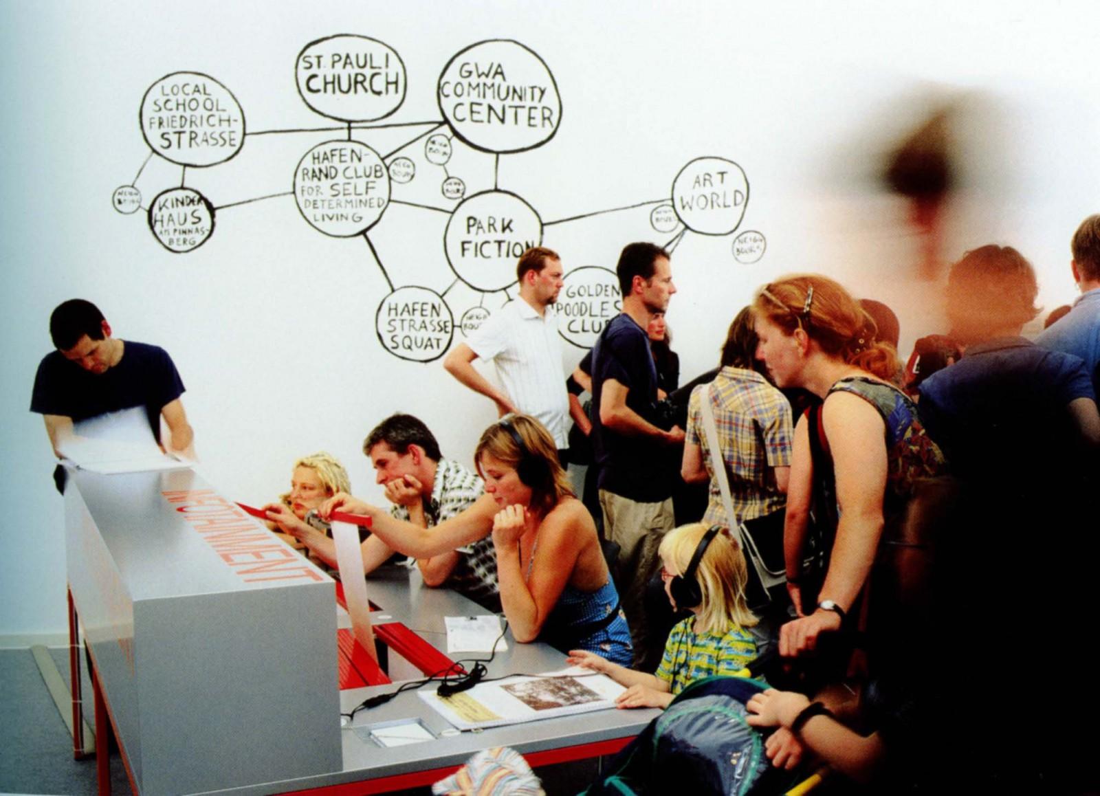 Park fiction documenta11 installation