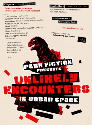 Park Fiction presents: Unlikely Encounters in Urban Space