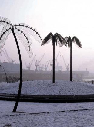 Palmen im Winter