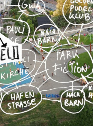 Park Fiction Netzwerk Pudel Hafenstrasse St. Pauli Kirche